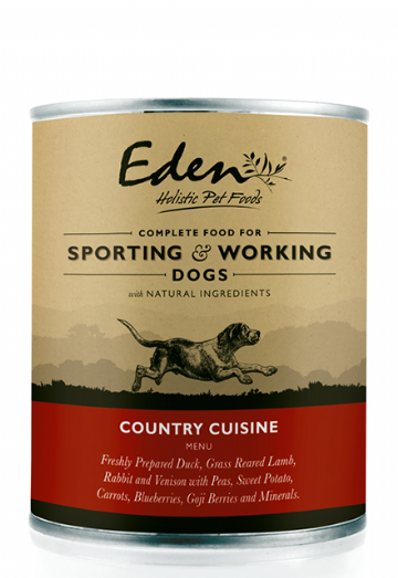 Eden Wet Food For Working & Sporting Dogs - Country Cuisine